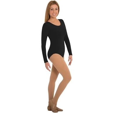 MT0209XX Bodywrappers Total Stretch Long Sleeve Leotard