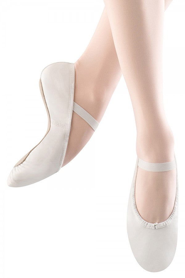 S0205 Bloch Full Sole Ballet Slipper - Adult - White