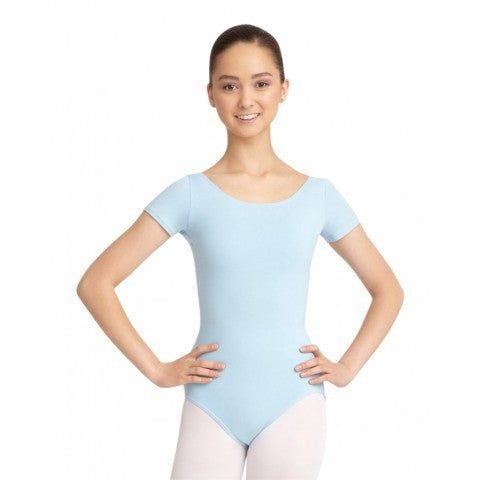 CC400 Capezio Adult Cotton Short Sleeve Leotard
