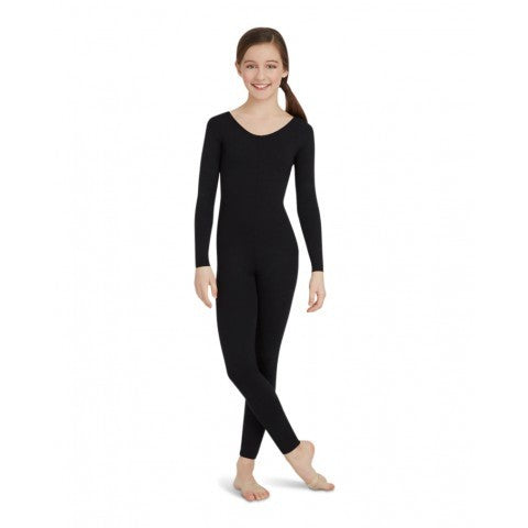 TB114C Capezio Children's Nylon Unitard