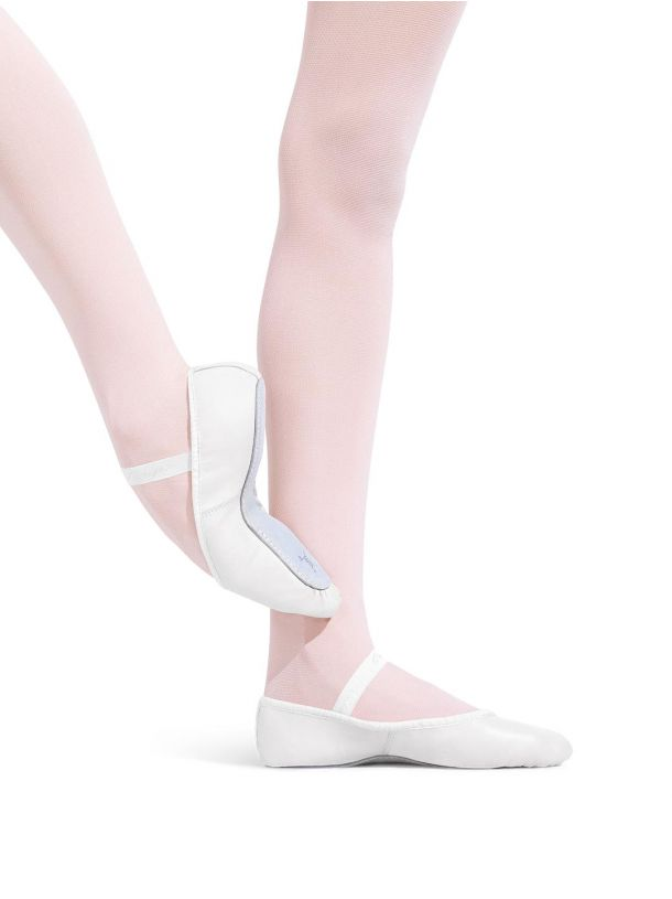 205 Capezio Daisy Full Sole Ballet Slipper - Adult - White
