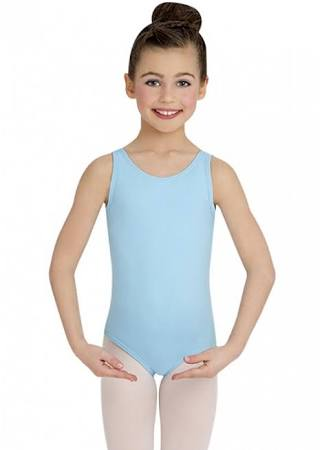 TB142C Capezio Children's Nylon Tank Leotard
