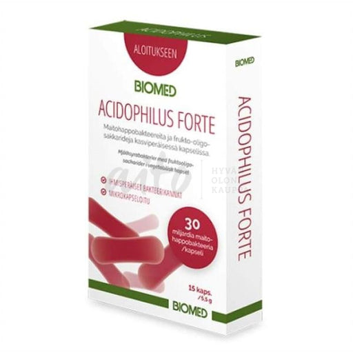 Acidophilus Forte 15 Kaps - Biomed Misc