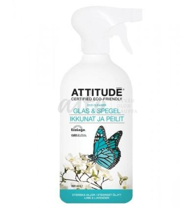 Attitude Eco Cleaner Lasinpesuneste 800 Ml Misc