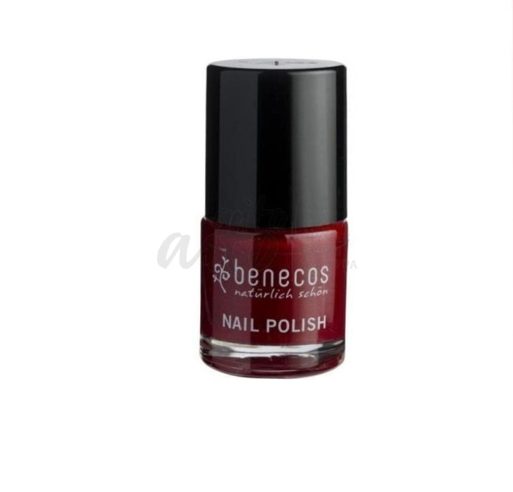 Benecos Nail Polish Kynsilakka Cherry Red 9Ml - Nhs Misc