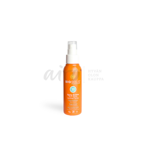 Biosolis Aurinkospray Spf 30 100 Ml - Natcos Misc