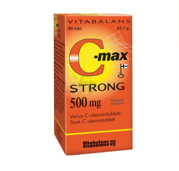 C-Max Strong 90 Tbl - Vitabalans Misc