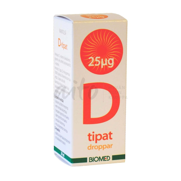 D-Tipat 25 Μg 20 Ml - Biomed Misc