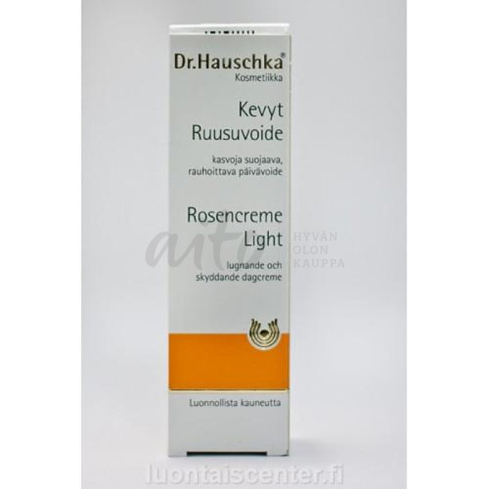 Dr. Hauschka Kevyt Ruusuvoide (Rose Day Cream Light) 30 Ml - Itu Misc