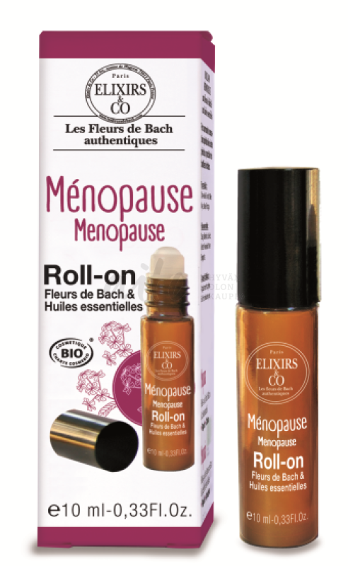 Elixirs Menopause (Vaihdevuodet) Roll-On 10Ml - Rimita Green Rim