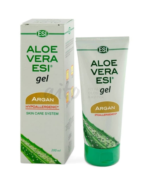 Esi Aloe Vera + Argan -Geeli 200 Ml - Natura Media Misc