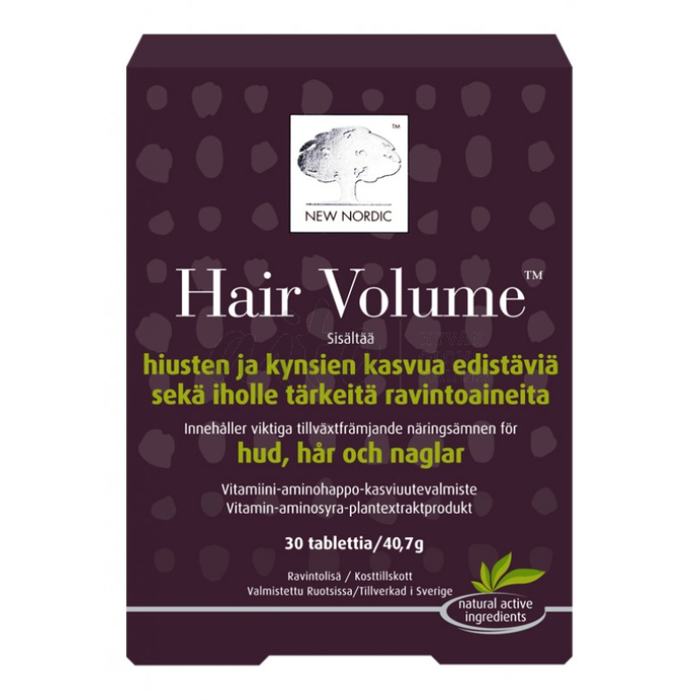 Hair Volume 90 Tabl - New Nordic Misc