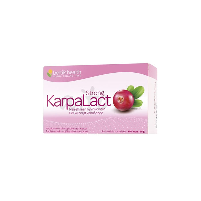 Karpalact Strong 120 Kaps - Bertils Health Misc