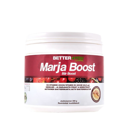 Marja Boost -Jauhe 200G - Better4You Misc