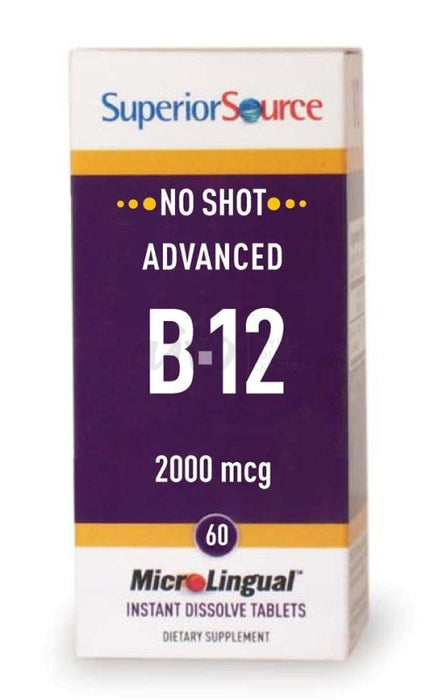 Microlingual Advanced B12 2000Μg 60 Tabl - Futmed Misc