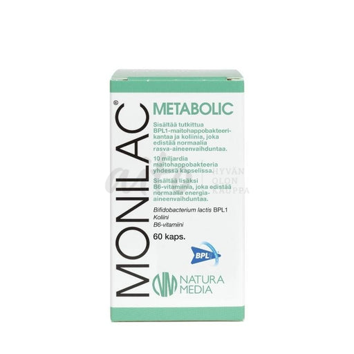 Monilac Metabolic 60 Kaps./ 34 G - Natura Media Misc