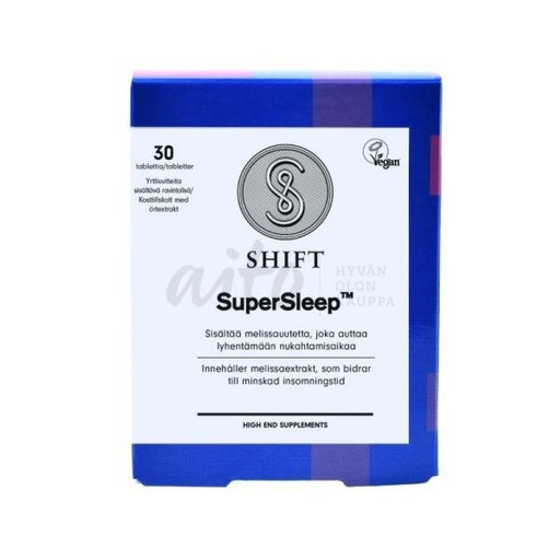 Shift Super Sleep 30 Tabl - Aduki Misc