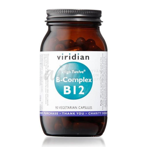 Viridian High Twelve B-Complex 90 Kaps Vir