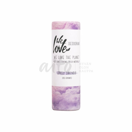 We Love The Planet Lovely Lavender Deodorantti Stick 65G - 4Dream Misc
