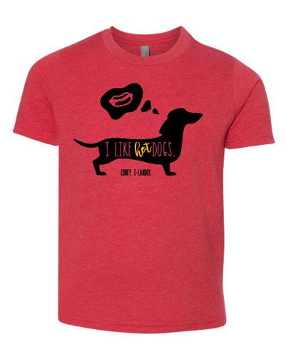 I Like Hot Dogs - Youth Tee