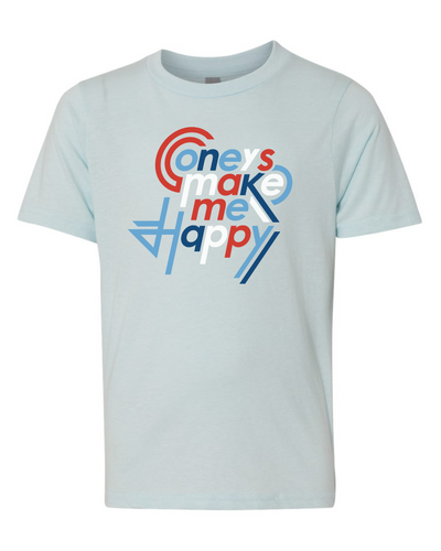 Coneys Make me Happy - Youth Tee