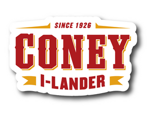 Coney Tradition Logo Sticker