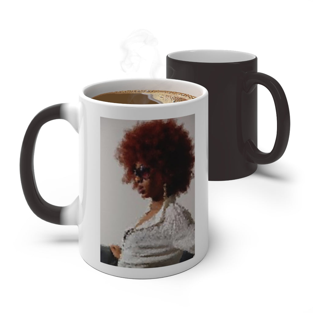 AFRO MAGIC Color Changing Mug