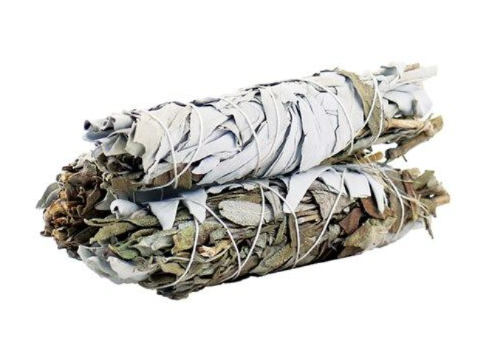 Smudge Stick - White Sage & Black Sage 10cm