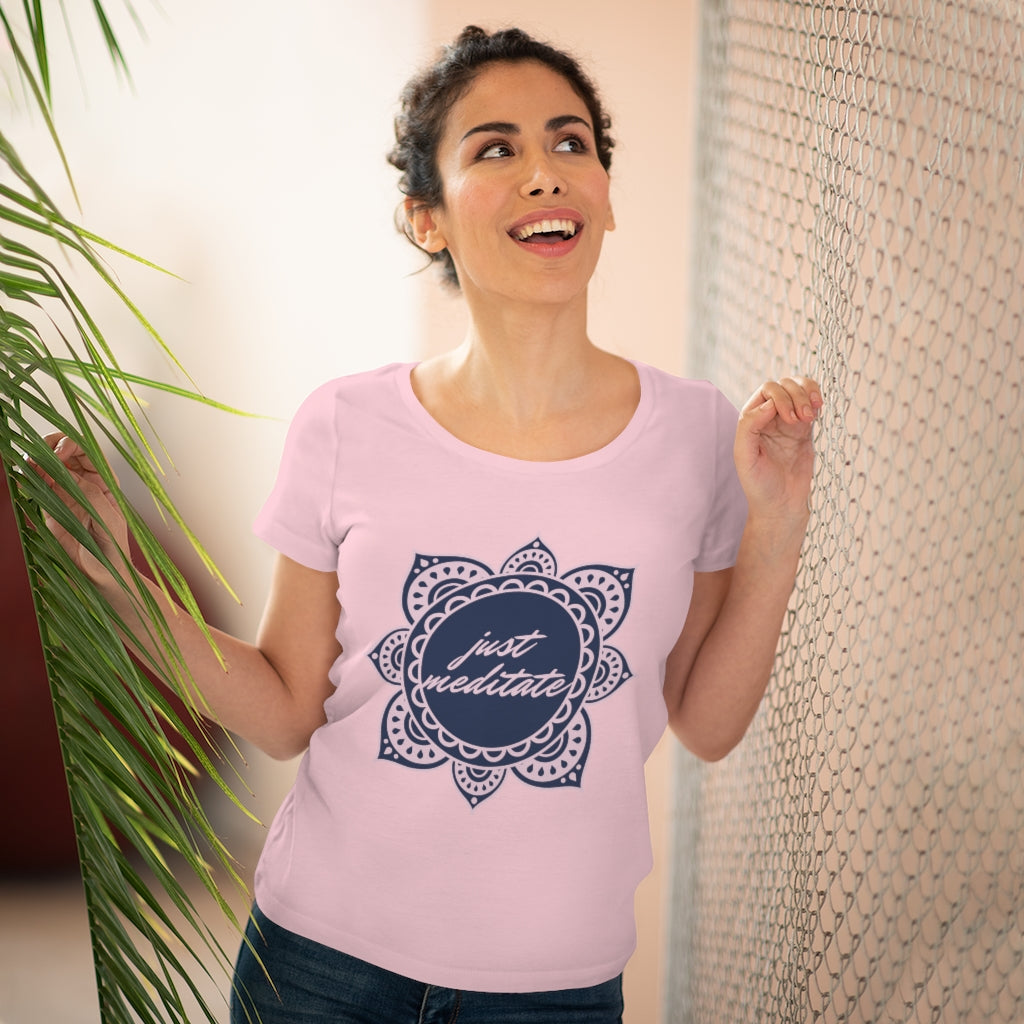 Just Meditate Women's Tee