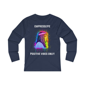 EMPRESS YANA PVO! Women's Fitted Long Sleeve Tee