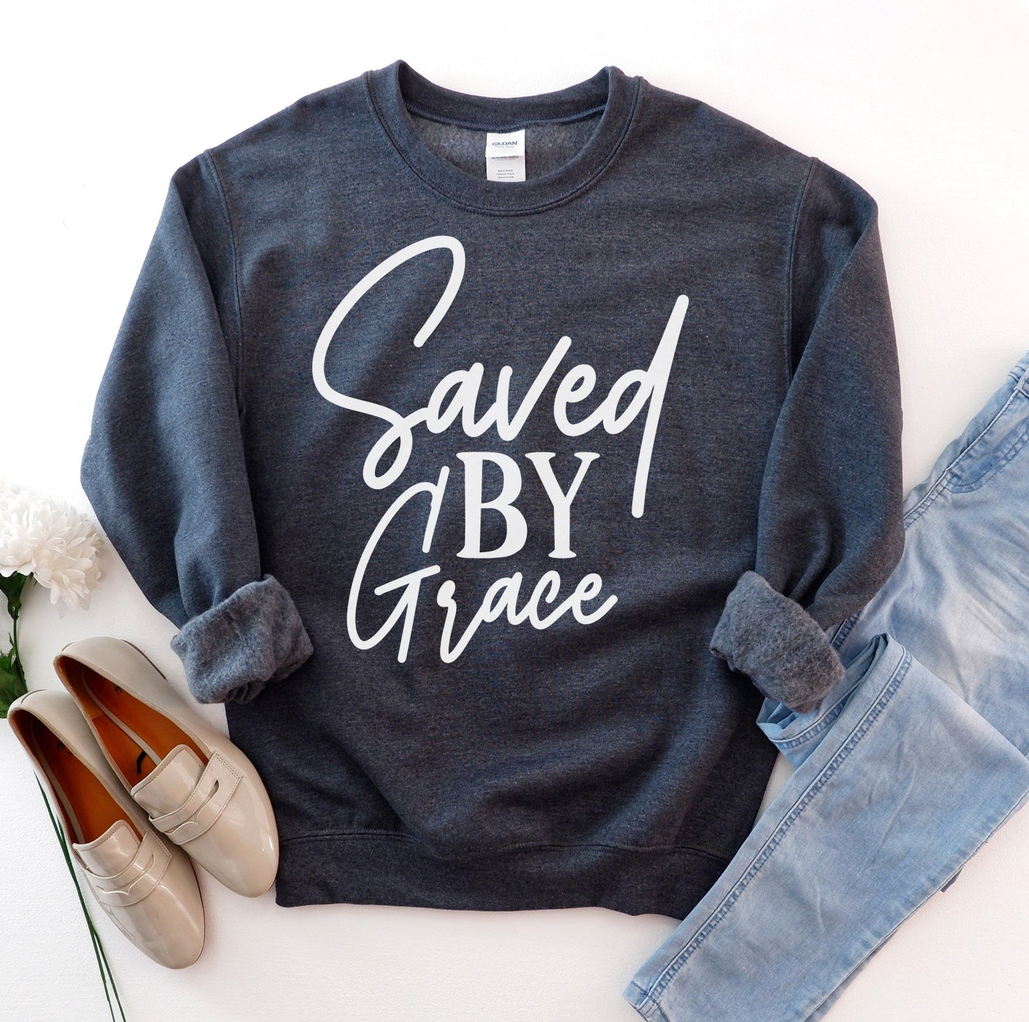 Saved By Grace Sweatshirt