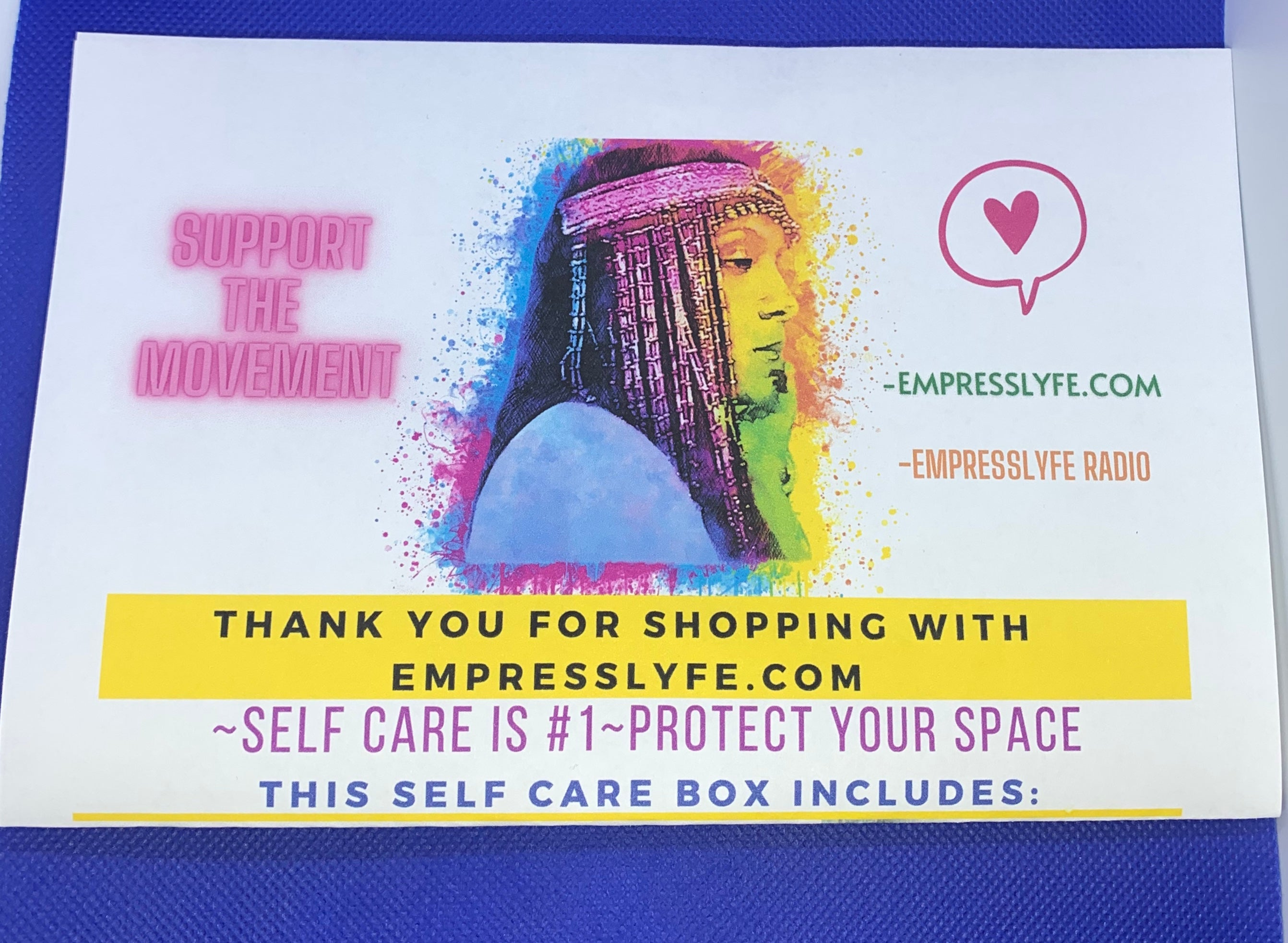 EmpressLyfe Protect Your Space Box- THE STANDARD