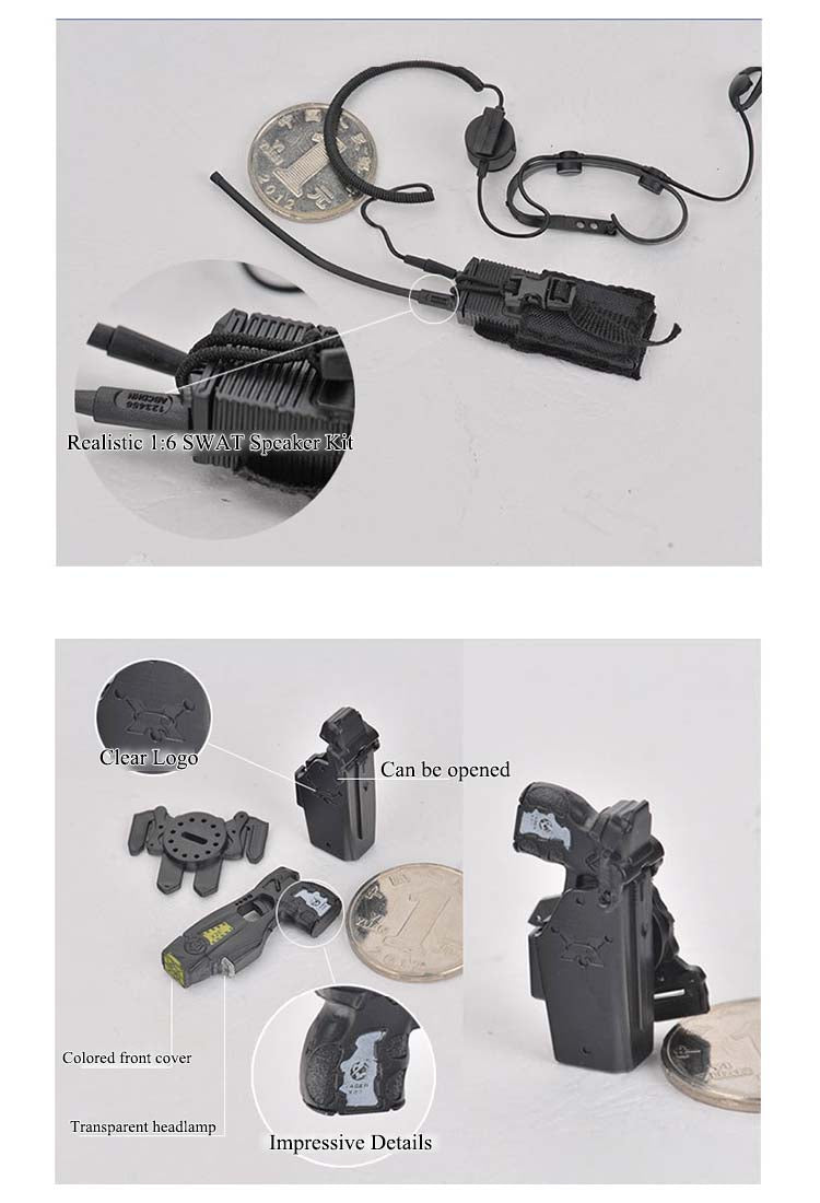 Highly detailed SWAT Equipment