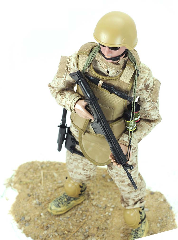 one sixth special force figure