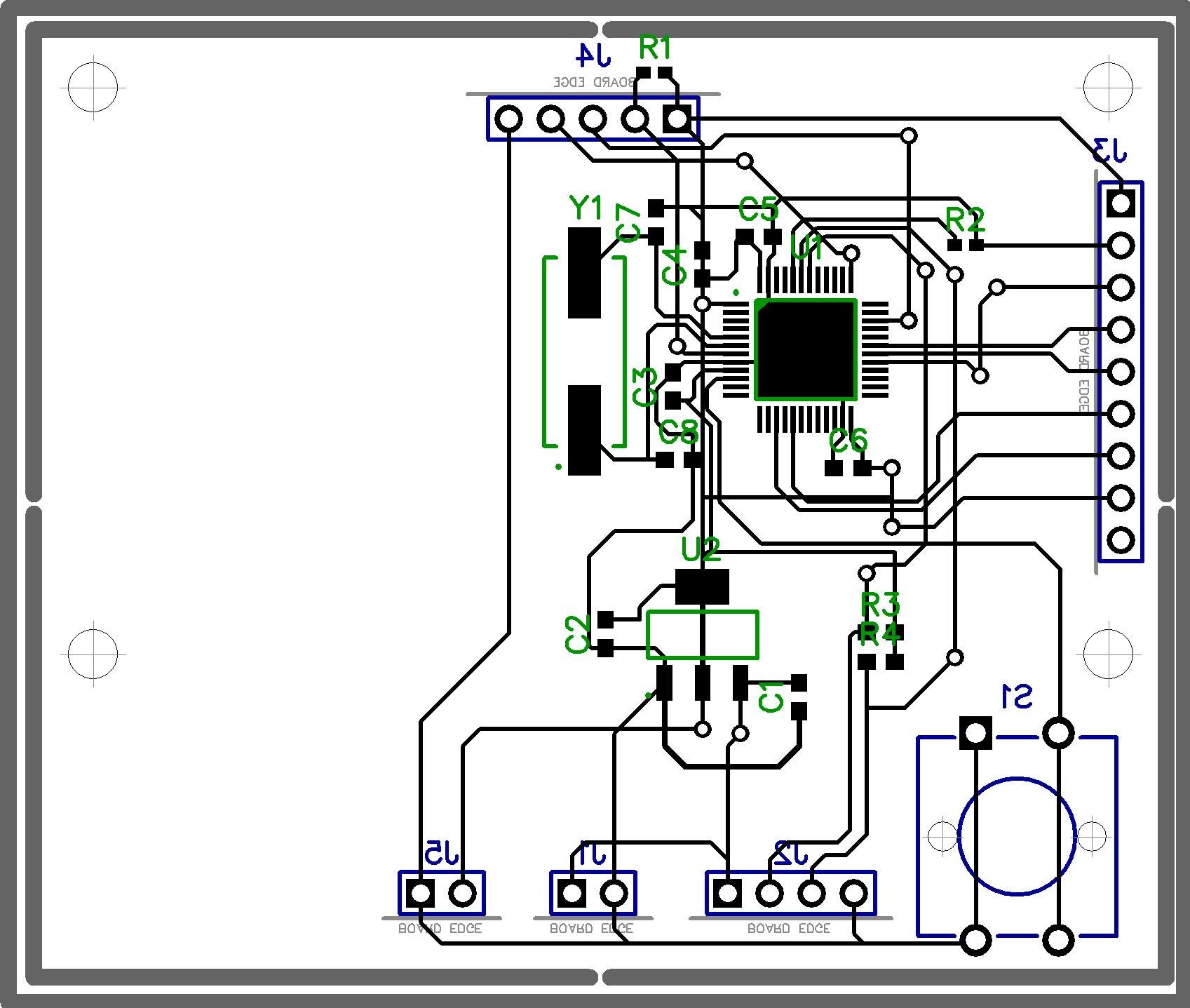LIDAR board layout