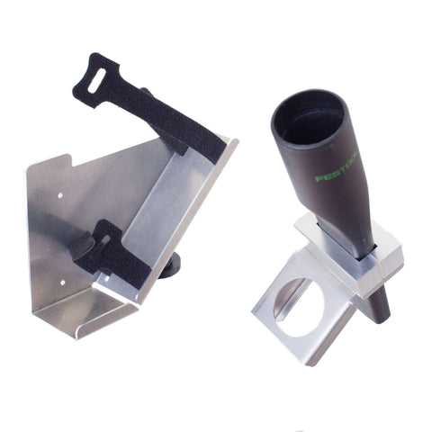 Dust extractor attachment add-on