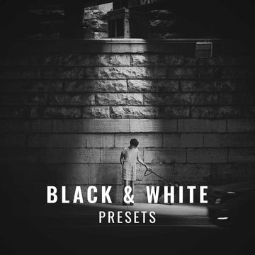 Black and white presets for Lightroom created by Colorado photographer, Casey Mac.