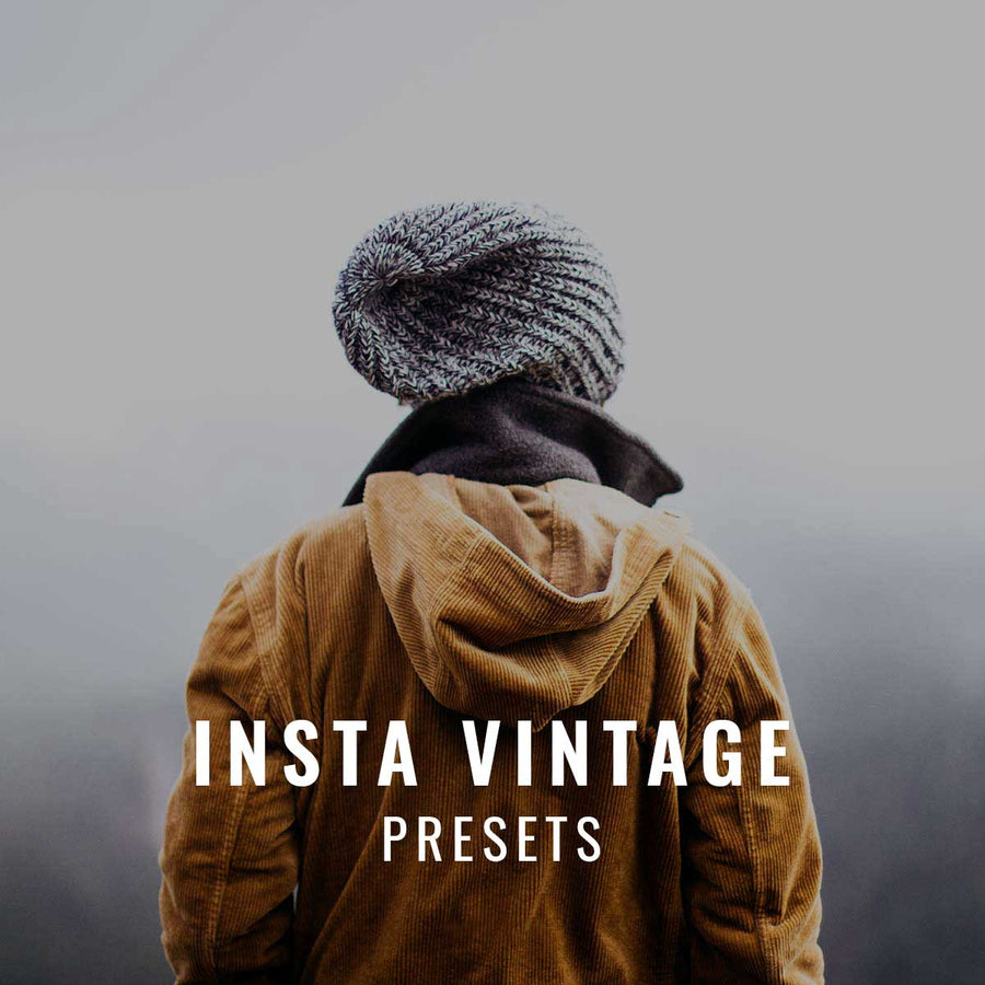 Insta Vintage editing presets for Lightroom and Photoshop from Casey Mac Photography.