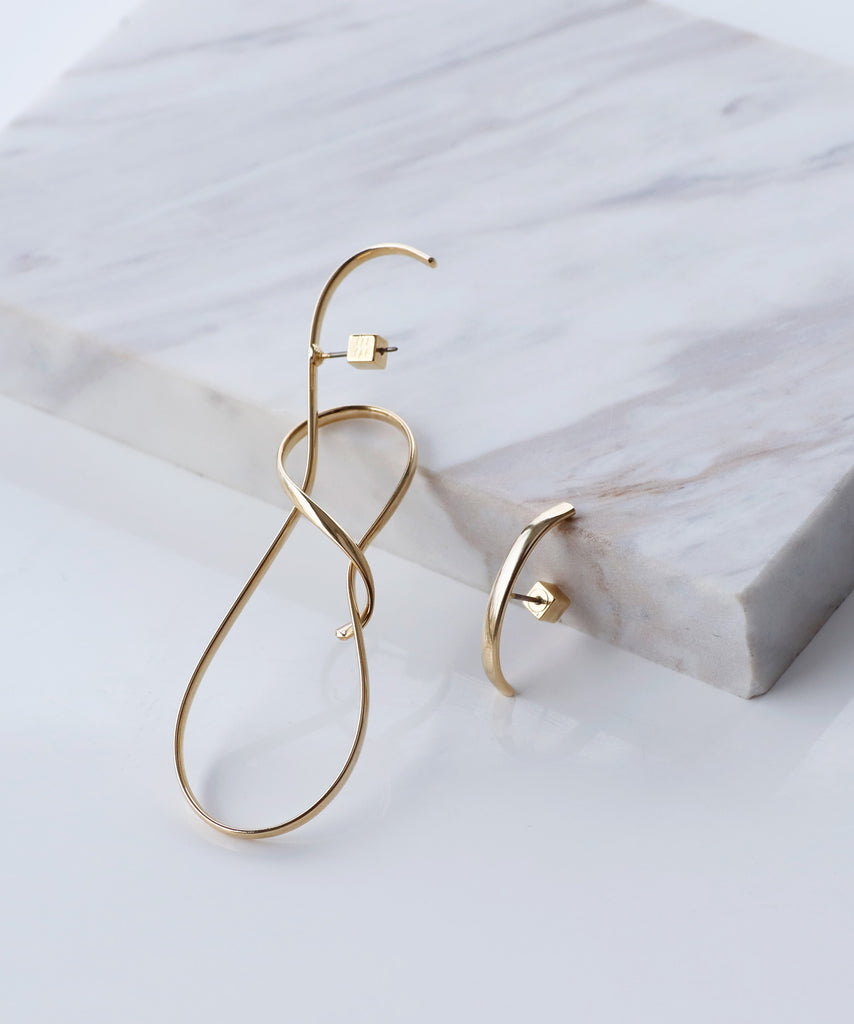 Unique Metal Earrings[C][Ownideal]