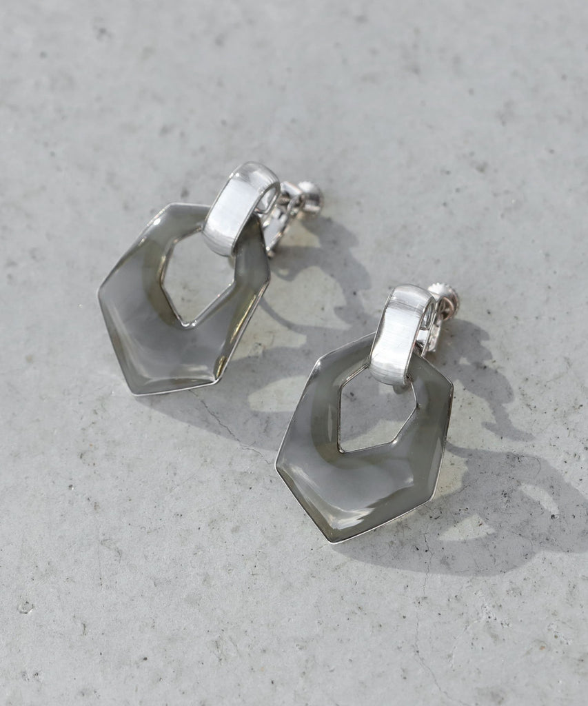 Marble  Clip On Earrings[Ownideal]