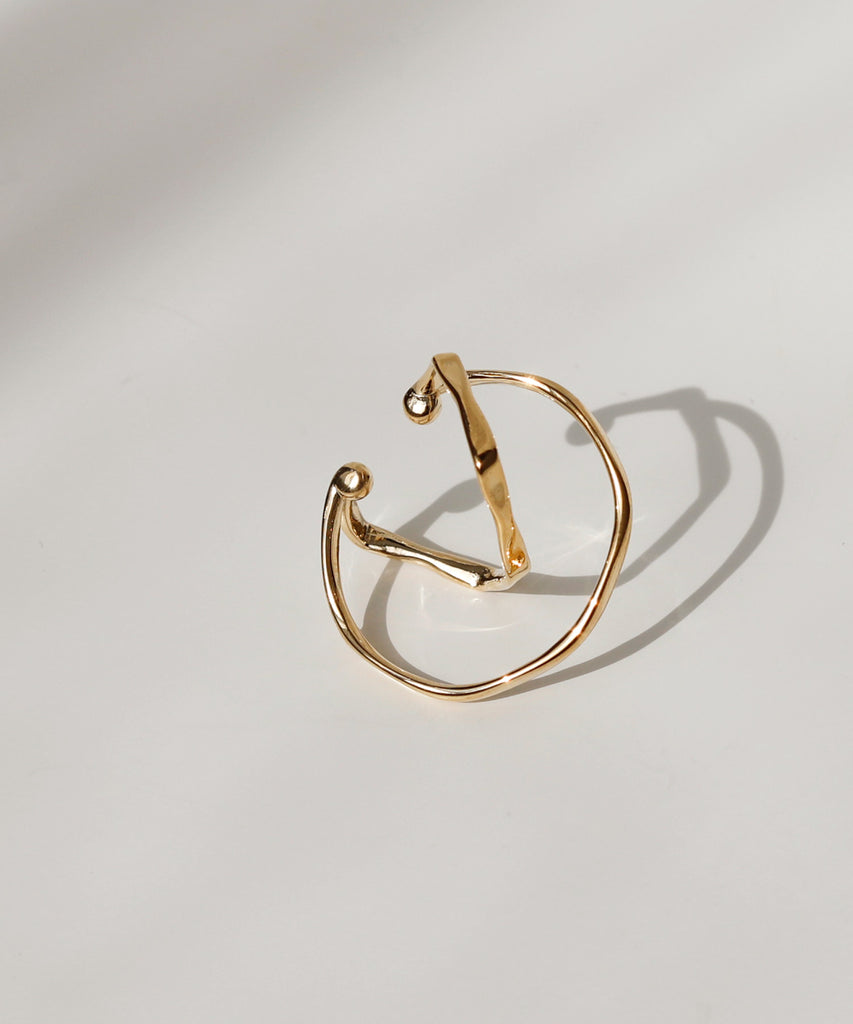 Twisted Cuff Earrings[Owindeal]