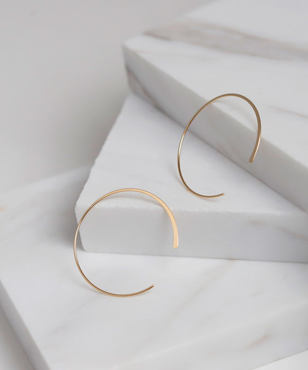 Hoop Earrings[Basic][K10]