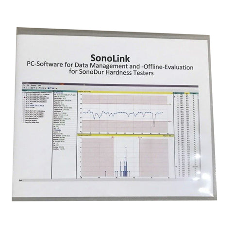 NewSonic Sono-Link Software for SonoDur Hardness Tester