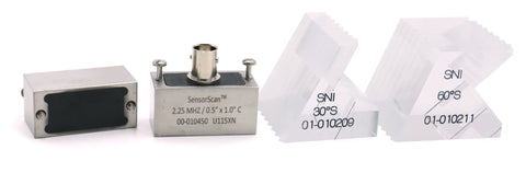 Sensor Networks Model SWS Angle-Beam Transducer - 2.25 MHz