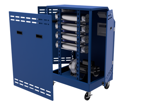 Splitter™ 4X Penetrant Waste Water Filtration System