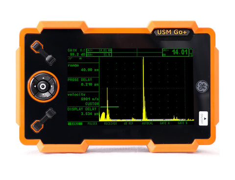 USM/DMS Go+ Ultrasonic Flaw Detector and Thickness Gauge - Rental