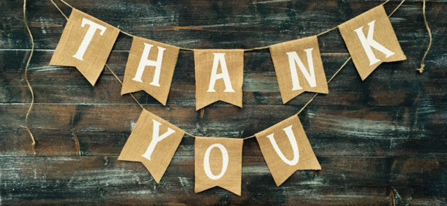 Burlap 'Thank You' Banner - The Rustic Chic Boutique