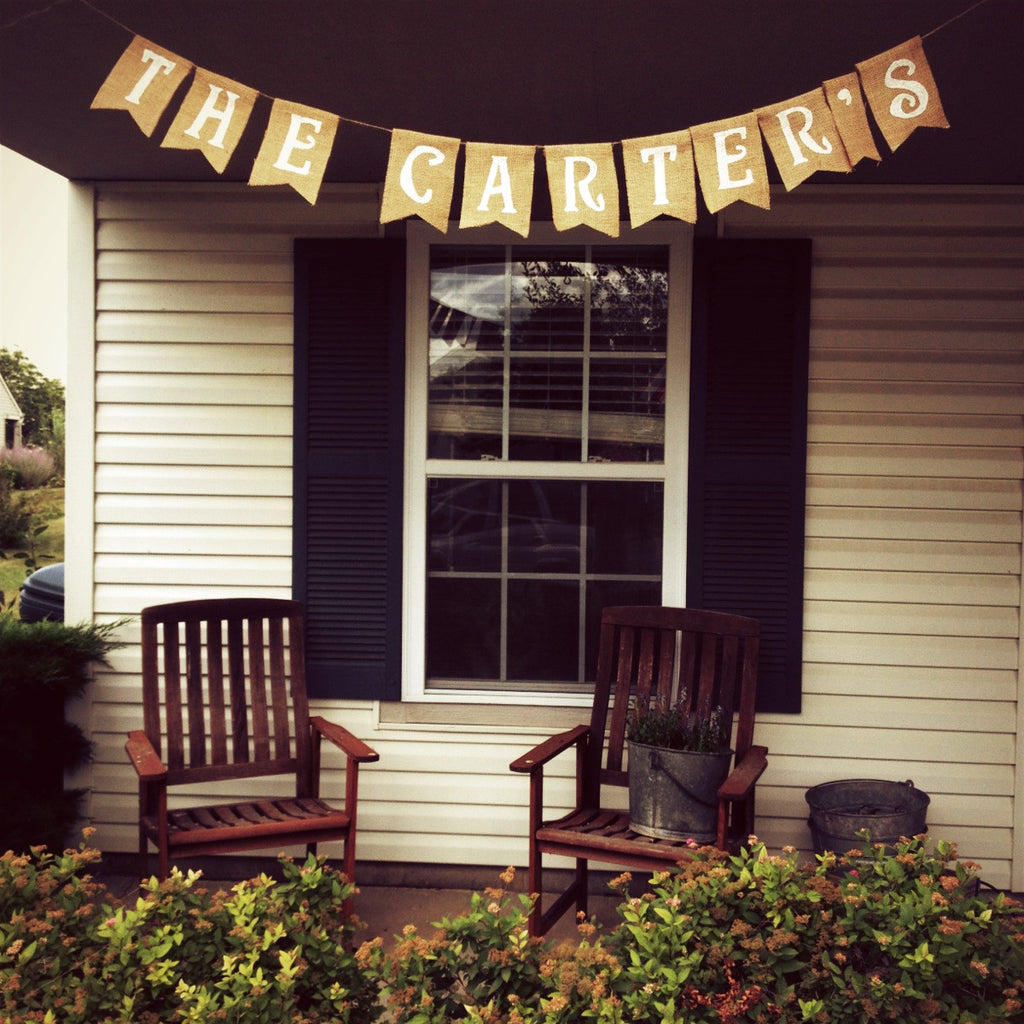 Customized Banners: $3.25/Letter - The Rustic Chic Boutique