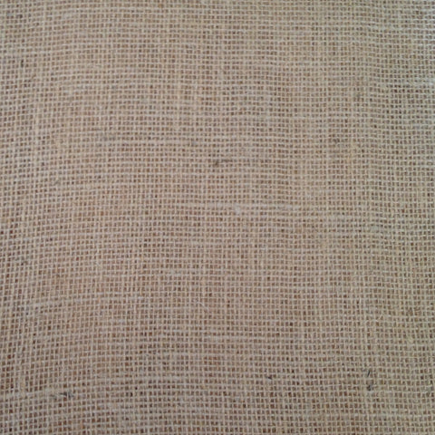 "Square Burlap Overlay - 50"" long x 50"" wide"
