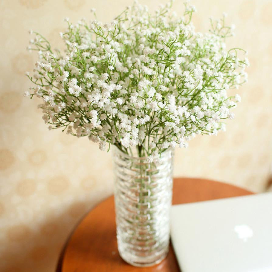 Artificial Baby's Breath (Gypsophila) Bouquet - The Rustic Chic Boutique